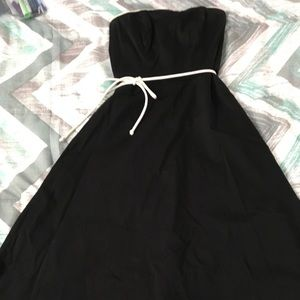 WHBM Strapless Dress